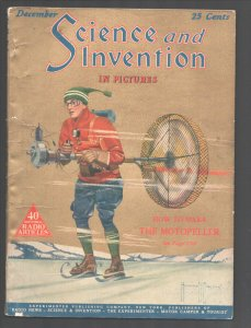 Science & Invention 12/1924-Experimenter-Frank R Paul art-H V Brown-Dunninger...