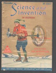 Science & Invention 12/1924-Experimenter-Frank R Paul art-H V Brown-Dunninger...