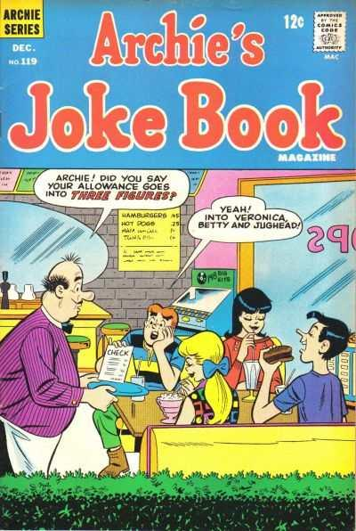 Archie's Joke Book Magazine #119, Good- (Stock photo)