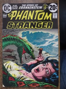 PHANTOM STRANGER 25 VG+ KALUTA  July 1973 COMICS BOOK