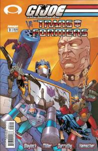 G.I. Joe vs. the Transformers #2 VF/NM; Image | save on shipping - details insid