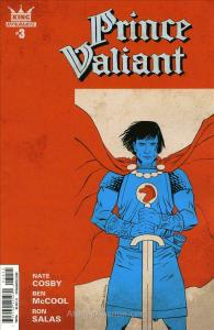 King: Prince Valiant #3A FN; Dynamite | save on shipping - details inside