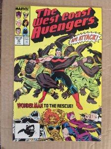 The West Coast Avengers #33
