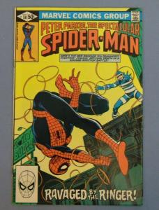 Peter Parker The Spectacular Spider-Man Issue #58 Autographed by John Byrne SEE!