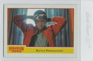 Stranger Things Battle Preparations 76 Topps Netflix 2018 Season One trading