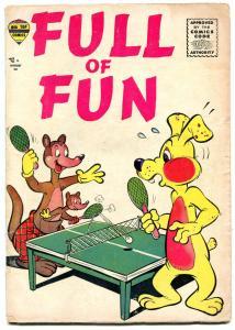 Full of Fun #1 1957- Rare Silver Age Funny Animal comic VG