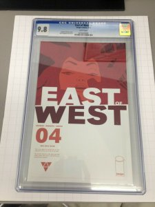 East of West 4 1st print CGC 9.8 In Development by Amazon