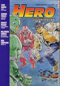 Hero Illustrated #17 VF/NM; Warrior | save on shipping - details inside
