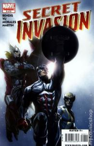 Marvel SECRET INVASION #8a VF