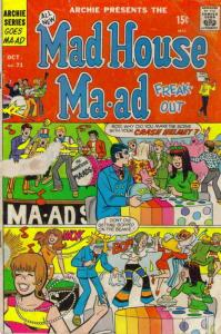 Madhouse Ma-ad Freakout #71 VG; Archie | low grade comic - save on shipping - de