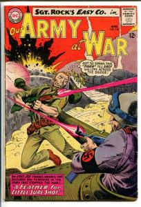 OUR ARMY AT WAR #145-SGT. ROCK-COOL ISSUE VG