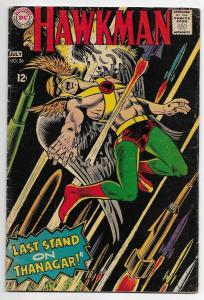 Hawkman 26 GD Kirby cover