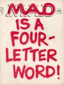 Mad (1952 series) #163, VF- (Stock photo)
