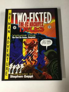 Two-fisted Tales Tpb Hardcover EC Comics Vol 1 1-6 In Color Near Mint B18