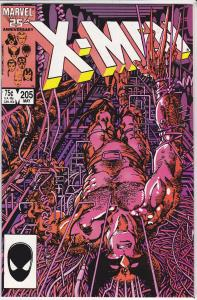 Uncanny X-Men #205
