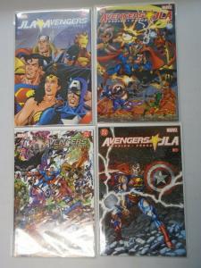 JLA Avengers set #1-4 (2003) 8.5/VF+