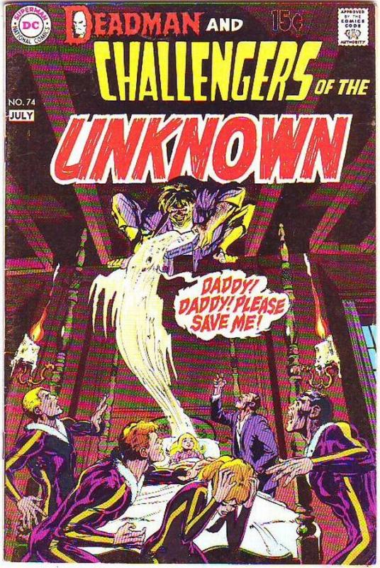 Challengers of the Unknown #74 (Jul-70) VF High-Grade Challengers of the Unkn...