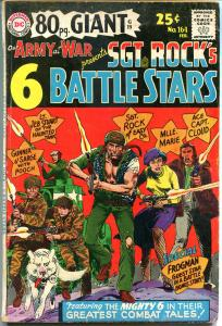 OUR ARMY at War #164, SGT ROCK'S Battle Tales, VG/FN, 1966, Joe Kubert