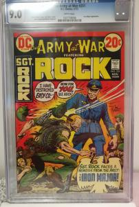 Our Army at War, #251 1972 CGC 9.0