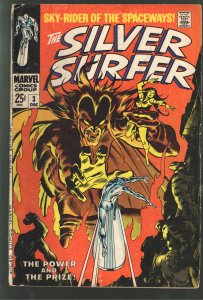 SILVER SURFER 3 VG 4.0 1st APPEARANCE MEHISTO
