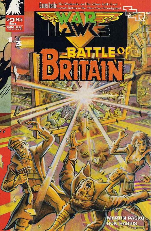 WARHAWKS BATTLE OF BRITAIN (1990 TSR) 1-3