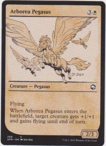 Magic the Gathering: Adventures in the Forgotten Realms - Arborea Pegasus(Showca