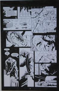 PAUL GULACY / KARL KESEL original art, TERMINATOR S O #3 pg 11, 11x 17,Secondary