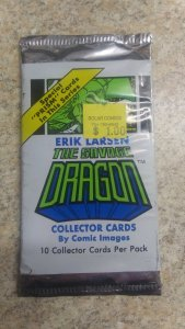 Erik Larsens The Savage Dragon Traiding Cards Sealed 39 Pack of 10.