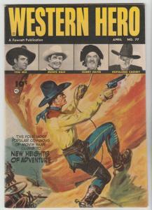 Real Western Hero #77 (Apr-49) VF/NM High-Grade Hopalong Cassidy, Monte Hale,...