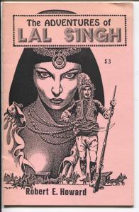 Adventures of Lal Singh-1985-pulp reprint-Robert E Howard-Stephen Fabian-FN