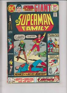 Superman Family #173 VF nov. 1975 - jimmy olsen - lois lane - supergirl dc giant