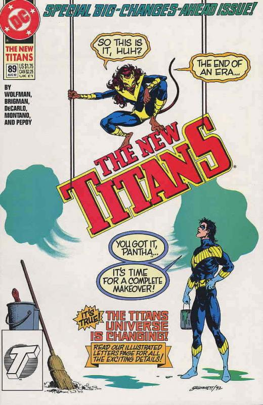 New Titans, The #89 VF/NM; DC | save on shipping - details inside