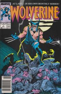 Wolverine #1 (Newsstand) VF; Marvel | save on shipping - details inside