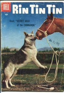RIN TIN TIN #15 1956-DELL-GERMAN SHEPHERD-good