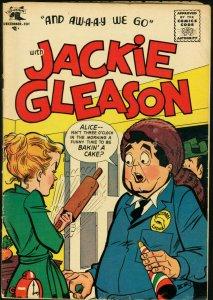 JACKIE GLEASON COMICS #4-ST. JOHN 1955-ALICE COVER VG