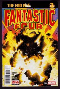 Fantastic Four #644 (May, 2015, Marvel) 9.4 NM