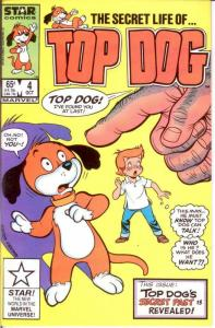 TOP DOG 4 VF-NM Oct. 1985