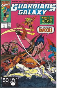 Guardians of the Galaxy #9 (Feb 1991) - World of the Mutants pt 1 - w/ Rancor