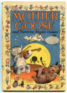 Four Color Comics #68 1945- Mother Goose- Walt Kelly VG-