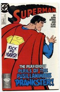 Superman #16-1st appearance Matrix Supergirl-1987 DC comic book
