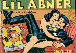 LI'L ABNER-THE DAILIES 1939-HARDCOVER-AL CAPP-VOL 5 VG
