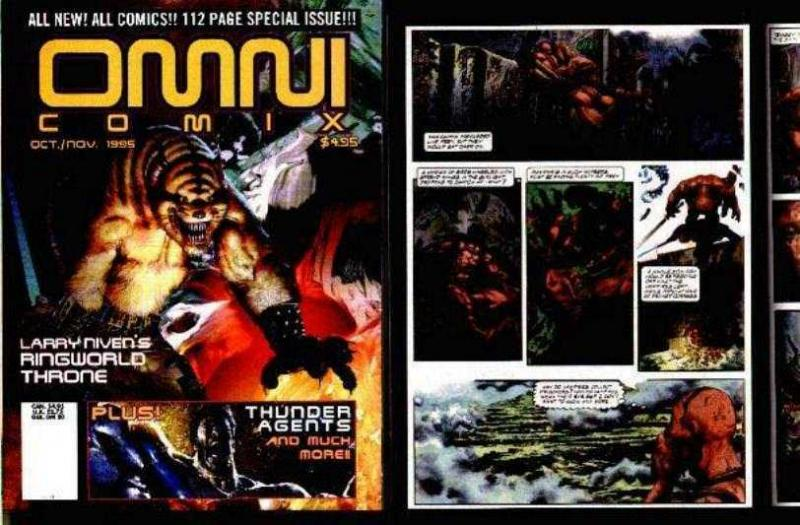 THUNDER AGENTS-OMNI COMIX#3-complete the set!