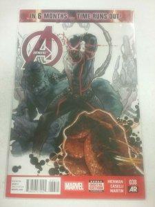 Avengers #38 By Hickman Spider-Woman Black Widow Secret Wars 2015 NW140