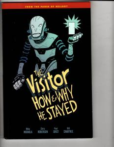 The Visitor How & Why He Stayed Dark Horse Comics Graphic Novel Comic Book CA1