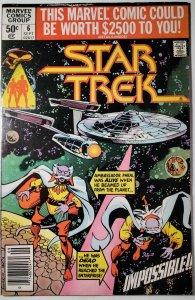 Star Trek #6 (1980) Marvel Comic Book J755