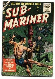 Sub-Mariner #39 comic book-Rare ATLAS comic book-1955 FN