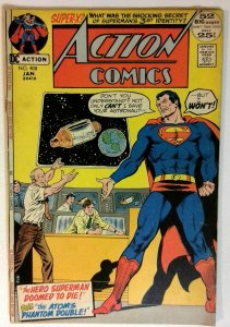 Action #408 DC 1972 FN+ Bronze Age Comic Book Giant Issue Superman 1st Print