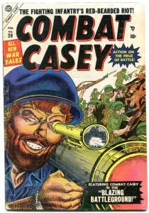 Combat Casey #20 1955- Bazooka cover- Atlas Golden Age VG+