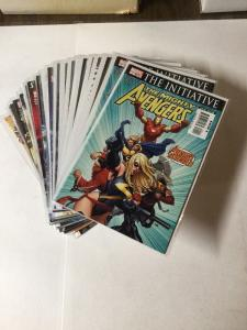 The Mighty Avengers 1 2 3 4 5 6 7 8 9 10 11-31 Stright Run Nm Near Mint