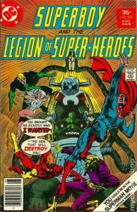 DC SUPERBOY & THE LEGION OF SUPER-HEROES #230 VG